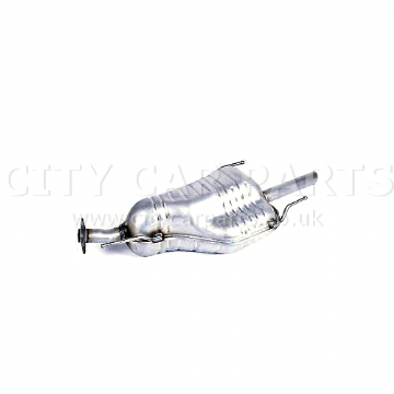 VAUXHALL ASTRA MK IV G 1.6 16V PETROL MODELS 1998 TO 2002 REAR EXHAUST SILENCER